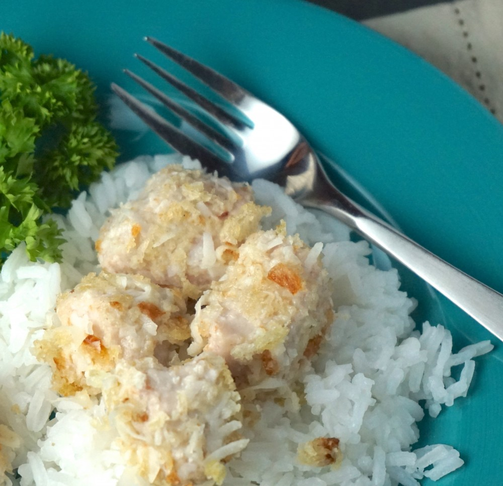 Coconut Crusted Mahi Mahi Bites