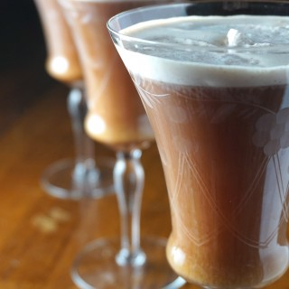 Irish Coffee with Cinnamon Whipped Cream