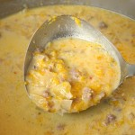 Butternut Squash, Apple and Sausage Bisque
