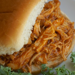 Slow Cooker Shredded Bbq Chicken Sandwich